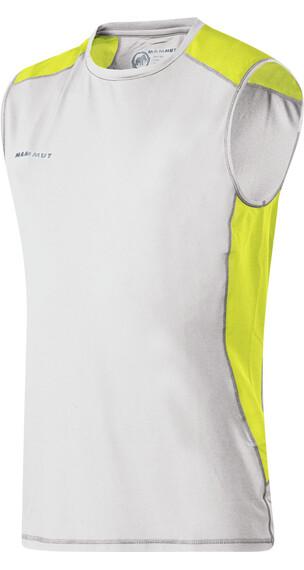Mammut M's MTR 71 Tank Shirt white-limeade